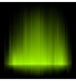 Aurora borealis background vector image