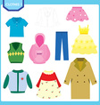 clothes vector image
