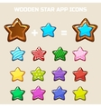 elements for making your own star constructor vector image