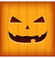 Halloween Greeting Card Design template with vector image