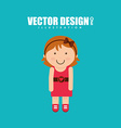 person icon design vector image