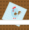 template cards vector vector image