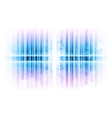 vertical lines abstract blue vector image vector image