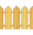 Batten fence vector image