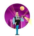 Policeman vector image