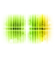 vertical lines abstract green vector image