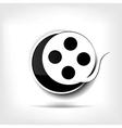 Video web icon vector image