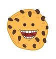 Cookie cartoon icon Bakery design graphic vector image