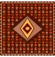 African style poster vector image