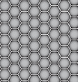 Chrome metal silver texture vector image vector image