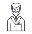 businessmanbusiness lawyerlegal adviser vector image