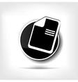 File web icon vector image