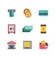 Money icon flat vector image