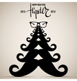 Hipster New Year 2013 vector image