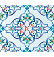 ottoman tile vector image