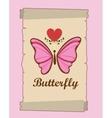beautiful butterflies design vector image