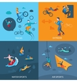 Extreme Sports Set vector image