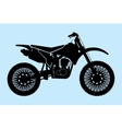 Classic Motorcycle vector image