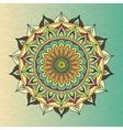 Ethnic oriental circle mandala vector image