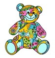 Colorful bear toy vector image vector image