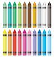 crayon selection vector image