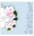 Marriage invitation card with place for text and vector image
