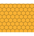 Abstract background honeycomb vector image