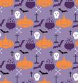Halloween pattern23 vector image