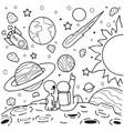 love alien vector image