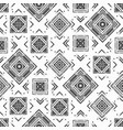 monochrome abstract geometric pattern vector image