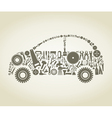 Tool the car vector image vector image