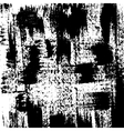 Black grunge brushstrokes background vector image
