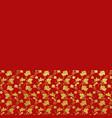 gold foil ornamental background vector image
