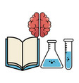 science-related objects design vector image
