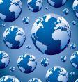 world globe seamless vector image