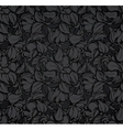 Abstract seamless pattern black vector image