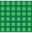 Green Tartan Background vector image