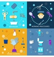 Hygiene Icons Flat vector image