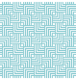 square chevron pattern background blue green vector image