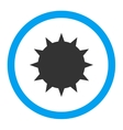 Bacterium Rounded Icon vector image