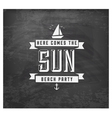 Here Comes the Sun - Calligraphy Design vector image