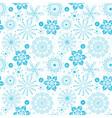 Seamless christmas grunge pattern vector image