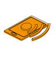 wifi signal on smartphone icon image vector image