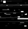glitch elements set computer screen error vector image