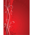 abstract valentines vector image