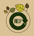 environmental campaing design vector image