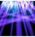 Purple beams in the smoke vector image
