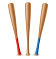 Baseball bat vector image