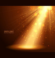 abstract spotlight background vector image