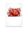 romantic letter vector image vector image